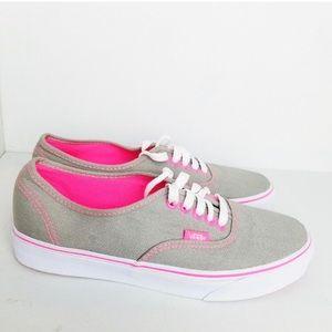 Neon & Grey Sneakers